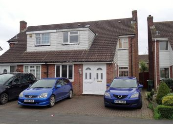 Thumbnail 4 bedroom semi-detached house for sale in Oakley Close, Holbury, Southampton