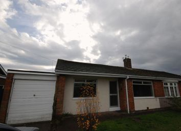 Thumbnail 2 bed semi-detached bungalow for sale in Norham Gardens, Choppington