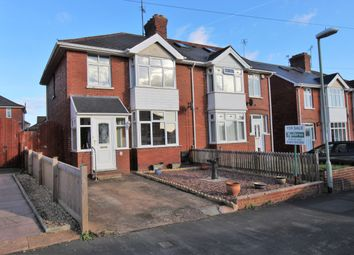 Thumbnail 3 bed semi-detached house for sale in Chard Road, Exeter