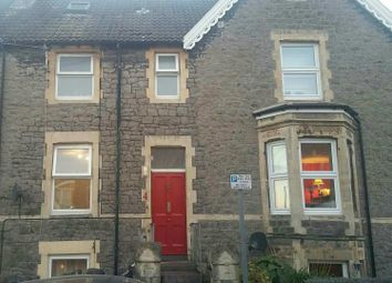 Thumbnail 4 bed terraced house for sale in Queens Road, Clevedon, Somerset