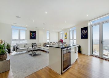 Thumbnail 3 bed flat to rent in Hatton Road, London