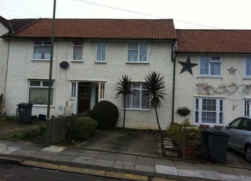Thumbnail 2 bed terraced house to rent in Silkstream Road, Burnt Oak, Middlesex