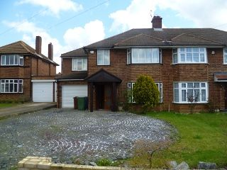 Thumbnail 5 bed semi-detached house to rent in Oakmeade, Pinner