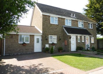 Thumbnail 3 bedroom semi-detached house for sale in The Brook, Sutton, Ely