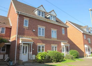 Thumbnail 4 bed town house for sale in Acorn Close, Penwortham, Preston