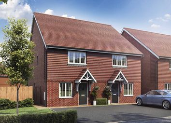 "Thumbnail 3 bed semi-detached house for sale in ""The Buzzard"" at Old Bisley Road, Frimley, Surrey, Frimley"