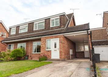 Thumbnail 3 bed semi-detached house for sale in Chapelfield Drive, Thorpe Hesley, Rotherham