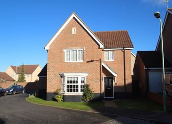 Thumbnail 3 bedroom detached house for sale in Oak Eggar Chase, Pinewood, Ipswich