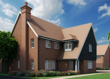 Thumbnail 4 bed detached house for sale in Broadacres, Worthing Road, Southwater