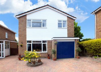 Thumbnail 4 bed detached house for sale in Nursery Close, Frimley Green, Camberley, Surrey