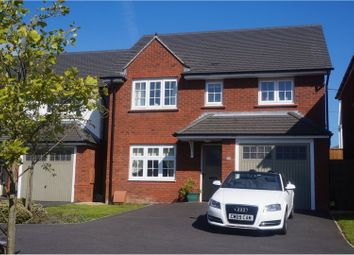 Thumbnail 4 bed detached house for sale in Clos Maes Rhedyn, Llanelli