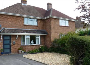 Thumbnail 2 bed semi-detached house for sale in Corbin Road, Pennington, Lymington