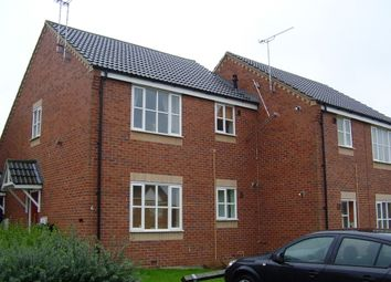 Thumbnail 1 bed flat to rent in Dickens Drive, Holmewood, Chesterfield