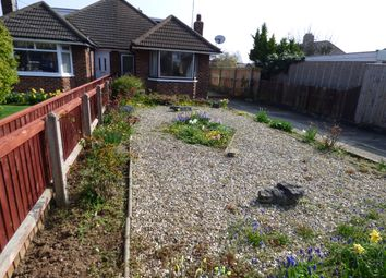 Thumbnail 1 bed semi-detached bungalow to rent in Croxby Grove, Grimsby