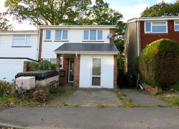 Thumbnail 3 bed end terrace house for sale in Peverells Wood Close, Chandlers Ford, Eastleigh