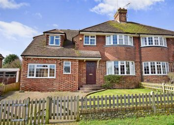Thumbnail 5 bed semi-detached house for sale in Highdown Road, Lewes, East Sussex