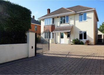 Thumbnail 5 bedroom detached house for sale in Castle Lane West, Bournemouth
