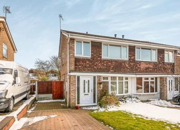 Thumbnail 3 bed semi-detached house for sale in Langholm Drive, Heath Hayes, Staffordshire, United Kingdom