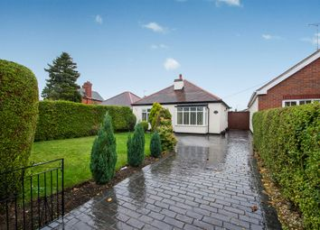 Thumbnail 2 bed detached bungalow for sale in Church Road, Stretton, Burton-On-Trent