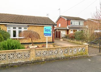 Thumbnail 2 bedroom semi-detached bungalow for sale in Craithie Road, Carlton-In-Lindrick, Worksop