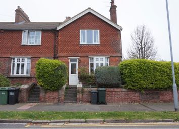 Thumbnail 2 bed end terrace house for sale in Summerdown Road, Eastbourne