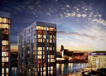 Thumbnail 1 bed flat for sale in X1 Media City Tower 4, Michigan Ave, Salford