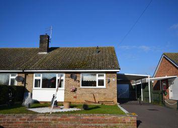 Thumbnail 2 bed semi-detached bungalow for sale in Edinburgh Way, Dersingham, King's Lynn