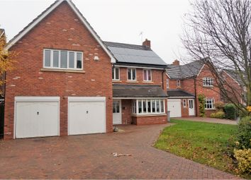 Thumbnail 5 bedroom detached house for sale in Haydn Jones Drive, Nantwich