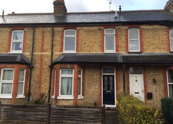Thumbnail 3 bed terraced house for sale in Milton Road, Egham