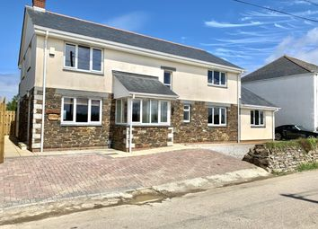 St. Eval, Wadebridge PL27. 4 bed detached house for sale
