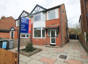 Thumbnail 3 bed semi-detached house to rent in Clifton Road, Urmston