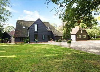 Aldermaston Road, Pamber End, Tadley, Hampshire RG26. 6 bed detached house