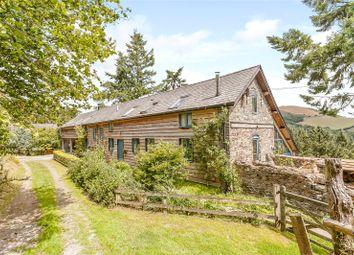 Thumbnail 5 bed barn conversion for sale in Llawr-Y-Glyn, Caersws, Powys