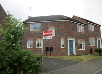 Thumbnail 3 bed semi-detached house for sale in Lowry Close, Hazel Leys, Corby