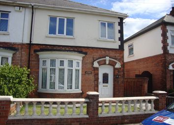 Thumbnail 3 bed semi-detached house to rent in Revigo Avenue, Grimsby
