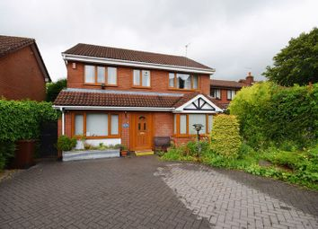 Thumbnail 4 bedroom detached house for sale in Newton Court, Werrington, Stoke-On-Trent