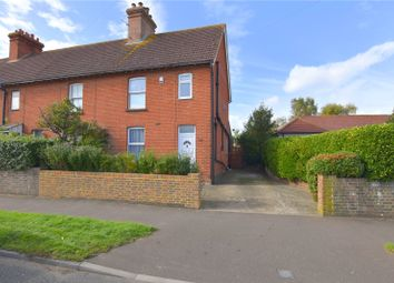 Thumbnail 3 bed end terrace house for sale in Grinstead Lane, Lancing, West Sussex