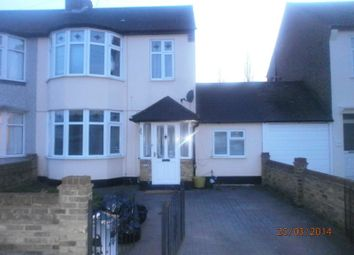 Thumbnail 4 bed terraced house to rent in Burlington Avenue, Romford