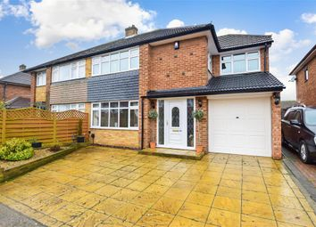 Thumbnail 4 bed semi-detached house for sale in Sirdar Strand, Gravesend, Kent