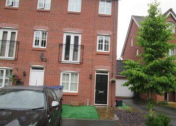 Thumbnail 4 bedroom town house to rent in Sorrell Gardens, Clayton, Newcastle-Under-Lyme