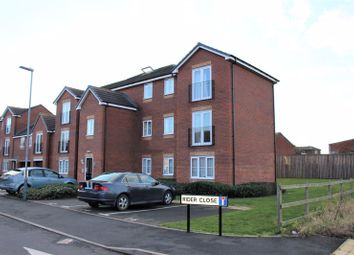 Thumbnail 2 bed flat for sale in Rider Close, Nuneaton