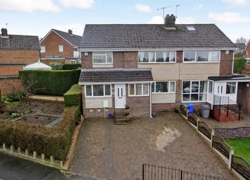 Thumbnail 3 bed semi-detached house for sale in Everard Avenue, Bradway, Sheffield