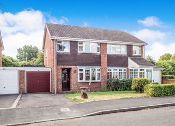 Thumbnail 3 bed semi-detached house for sale in Kirby Avenue, Warwick