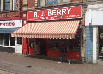 Thumbnail Retail premises for sale in R J Berry Quality Butcher, Cardiff