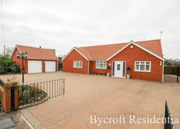 Thumbnail 4 bed detached bungalow for sale in Old Coast Road, Ormesby, Great Yarmouth