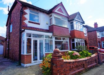 Thumbnail 3 bedroom semi-detached house for sale in Burnside Drive, Manchester