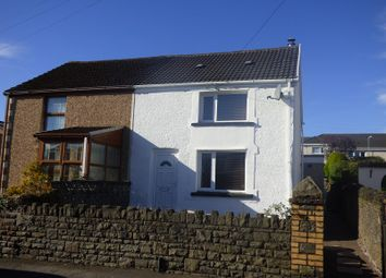 Thumbnail 2 bed semi-detached house for sale in Queens Road, Skewen, Neath .