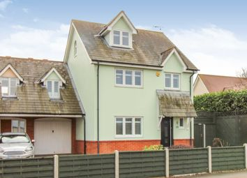 Thumbnail 4 bed link-detached house for sale in Wash Road, Laindon, Basildon