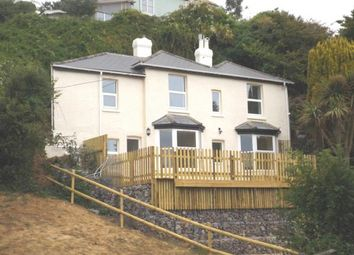 Thumbnail 3 bed detached house for sale in Newport Road, Ventnor