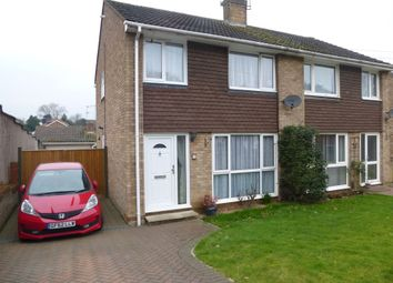 Thumbnail 3 bed semi-detached house for sale in Grampion Close, Ashford